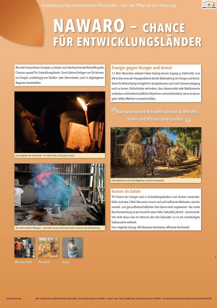 Exkurs: NawaRo - Chance für Entwicklungsländer