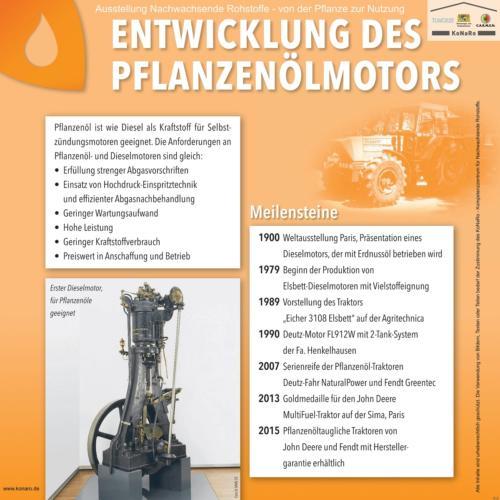 Abteilung 5: Entwicklung Pflanzenölmotor