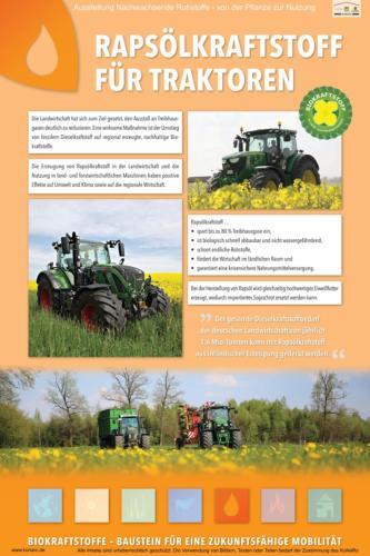 Abteilung 5: Rapsölkraftstoff für Traktoren