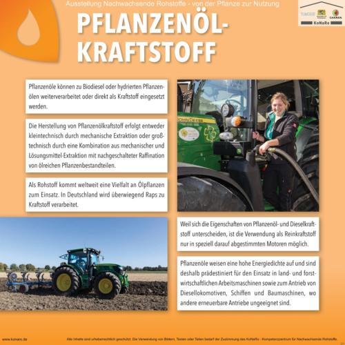 Abteilung 5: Pflanzenölkraftstoff