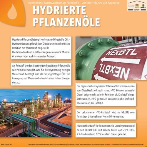Abteilung 5: Hydrierte Pflanzöle