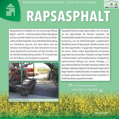 Abteilung 7: Rapsasphalt
