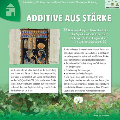 Abteilung 7: Additive aus Stärke